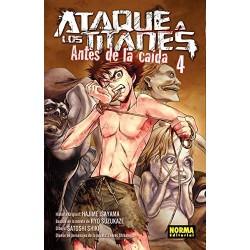 ATAQUE A LOS TITANES: ANTES DE LA CAÍDA Nº 4