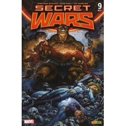 SECRET WARS Nº 9 (PORTADA ALTERNATIVA)