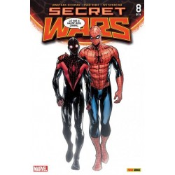 SECRET WARS Nº 8 (PORTADA ALTERNATIVA)