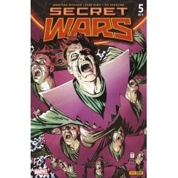 SECRET WARS Nº 5 (PORTADA ALTERNATIVA)