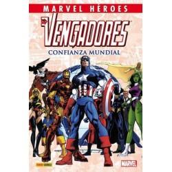MARVEL HÉROES Nº 33 LOS VENGADORES: CONFIANZA MUNDIAL
