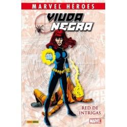 MARVEL HÉROES Nº 22 VIUDA NEGRA: RED DE INTRIGAS