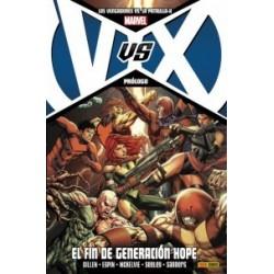 LOS VENGADORES VS. LA PATRULLA X: PRÓLOGO EL FIN DE GENERACIÓN HOPE