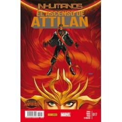 INHUMANOS Nº 17 EL ASCENSO DE ATTILAN (SECRET WARS)