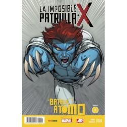 LA IMPOSIBLE PATRULLA-X Nº 20 LA BATALLA DEL ÁTOMO 8