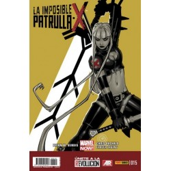 LA IMPOSIBLE PATRULLA-X Nº 15