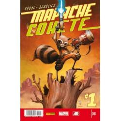 MAPACHE COHETE Y GROOT Nº 1