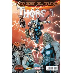 THOR VOL.5 Nº 54 DIOSA DEL TRUENO: THORS (SECRET WARS)