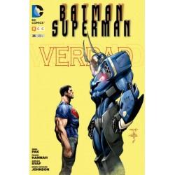 BATMAN/SUPERMAN Nº 26 VERDAD