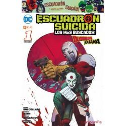 ESCUADRÓN SUICIDA: LOS MÁS BUSCADOS Nº 1 DEADSHOT Y KATANA