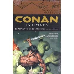 CONAN LA LEYENDA Nº 4 EL APOSENTO DE LOS MUERTOS