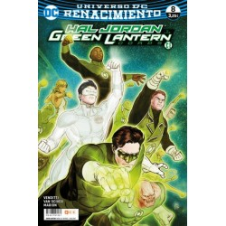 GREEN LANTERN Nº 63 RENACIMIENTO 8