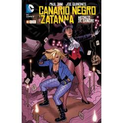 CANARIO NEGRO Y ZATANNA: HECHIZO DE SANGRE