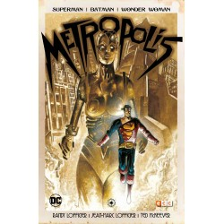 SUPERMAN, BATMAN, WONDER WOMAN: METROPOLIS
