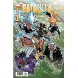 LA EXTRAORDINARIA PATRULLA-X Nº 1