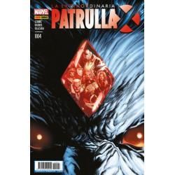 LA EXTRAORDINARIA PATRULLA-X Nº 4