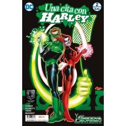 UNA CITA CON HARLEY Nº 2 GREEN LANTERN