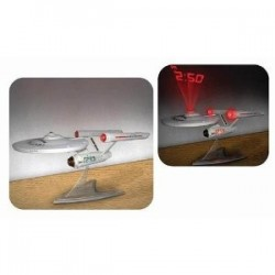STAR TREK ENTERPRISE RELOJ PROYECTOR