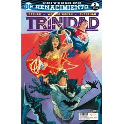 BATMAN / WONDER WOMAN / SUPERMAN: TRINIDAD Nº 2 (RENACIMIENTO)