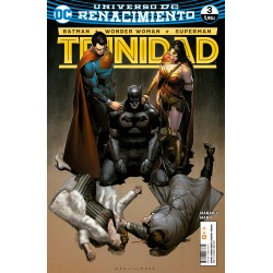 BATMAN / WONDER WOMAN / SUPERMAN: TRINIDAD Nº 3 (RENACIMIENTO)