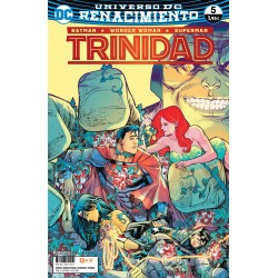 BATMAN / WONDER WOMAN / SUPERMAN: TRINIDAD Nº 5 (RENACIMIENTO)