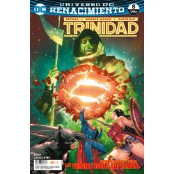 BATMAN / WONDER WOMAN / SUPERMAN: TRINIDAD Nº 8 (RENACIMIENTO)