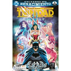 BATMAN / WONDER WOMAN / SUPERMAN: TRINIDAD Nº 11 (RENACIMIENTO)