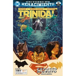 BATMAN / WONDER WOMAN / SUPERMAN: TRINIDAD Nº 12 (RENACIMIENTO)