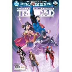 BATMAN / WONDER WOMAN / SUPERMAN: TRINIDAD Nº 13 (RENACIMIENTO)