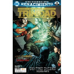 BATMAN / WONDER WOMAN / SUPERMAN: TRINIDAD Nº 14 (RENACIMIENTO)