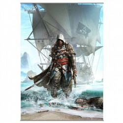ASSASSIN'S CREED IV BLACK FLAG WALLSCROLL VOLUME 1