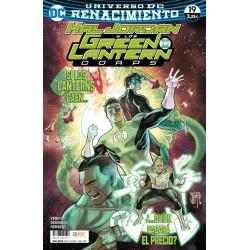 GREEN LANTERN Nº 74 RENACIMIENTO 19