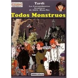 LAS EXTRAORDINARIAS AVENTURAS DE ADÈLE BLANC-SEC. TODOS MONSTRUOS