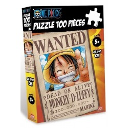 ONE PIECE PUZZLE WANTED LUFFY