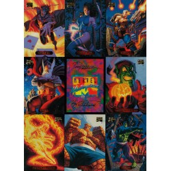 MARVEL MASTERPIECES TRADING CARDS