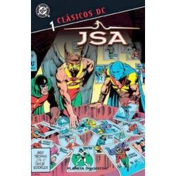 CLÁSICOS DC: JSA 01