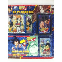 DRAGON BALL GT DX PP. CARD SET