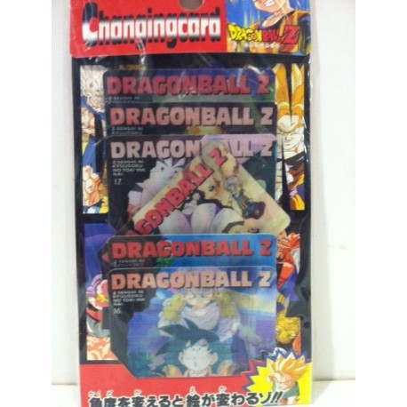 DRAGON BALL Z CHANGING CARD