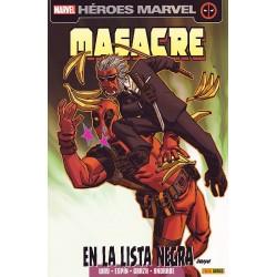 MASACRE VOL.2 14 EN LA LISTA NEGRA