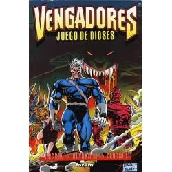VENGADORES JUEGO DE DIOSES