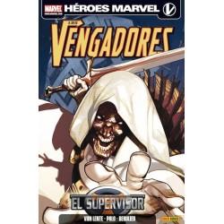 HÉROES MARVEL. LOS VENGADORES- EL SUPERVISOR