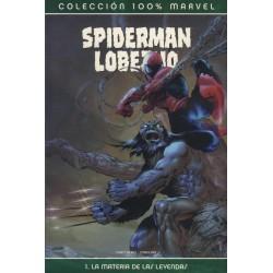 100% MARVEL. SPIDERMAN / LOBEZNO-LA MATERIA DE LAS LEYENDAS 01