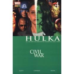 HULKA 4 CIVIL WAR. LA GRAN REVELACION