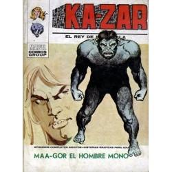 KA-ZAR 03. MAA-GOR EL HOMBRE MONO