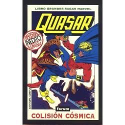 QUASAR- COLISION COSMICA