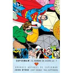 GRANDES AUTORES DE SUPERMAN- JOHN BYRNE - SUPERMAN- EL HOMBRE DE ACERO VOL. 7