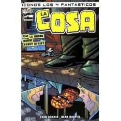 ICONOS LOS 4 FANTÁSTICOS 01-LA COSA/CAE LA NOCHE SOBRE YANCY STREET