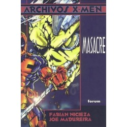 ARCHIVOS X-MEN-MASACRE