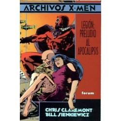 ARCHIVOS X-MEN-LEGIÓN. PRELUDIO AL APOCALIPSIS