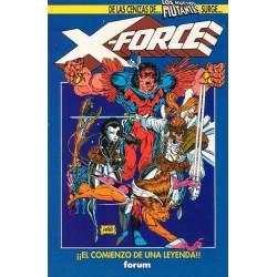 X-FORCE. ¡¡EL COMIENZO DE UNA LEYENDA!!
